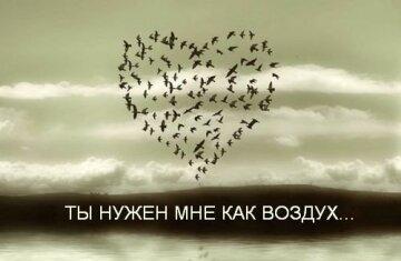 Ты нужен мне как воздух