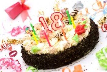 День рождения дочери 18 лет