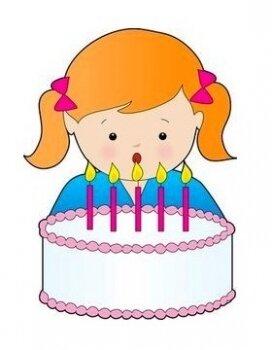 Поздравление на 5 лет для девочки