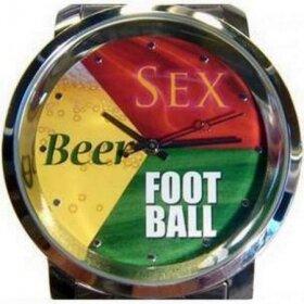 Прикольные пожелания: пиво, девушки и футбол!