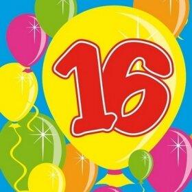 С Днем рождения! С 16-летием!