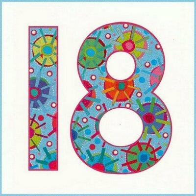 18 лет с днем рождения картинки: