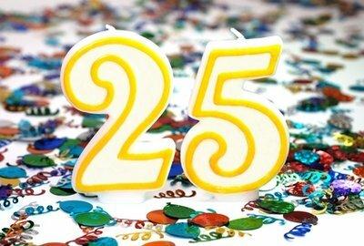 25 лет: